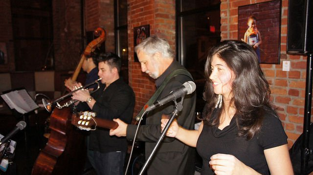 GOZA LATIN JAZZ BAND AT THE FRIENDS OF SIMSBURY LIBRARY COFFEEHOUSE