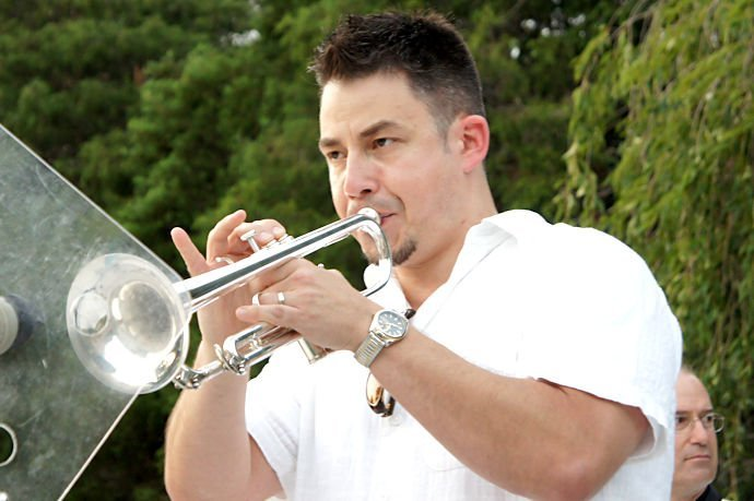 Brian Wallace - Trumpet / Flügelhorn / Percussion